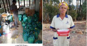 COVID19 CSAAWU food aid