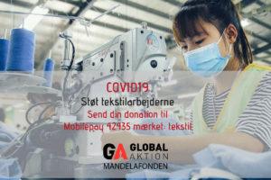 Støt tekstilarbejderne