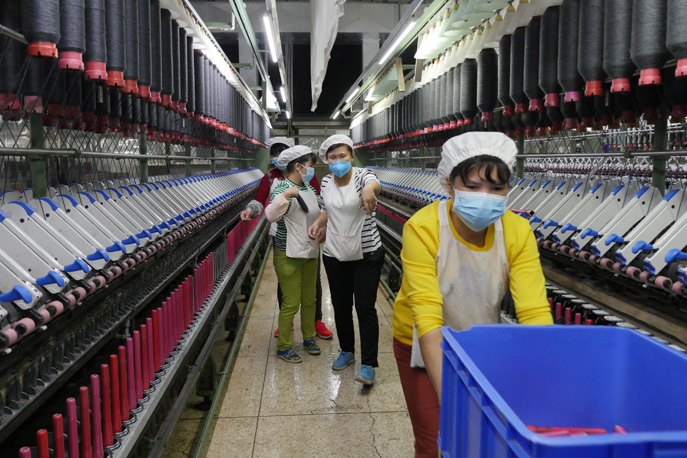 Textile workers' financial burden from COVID19