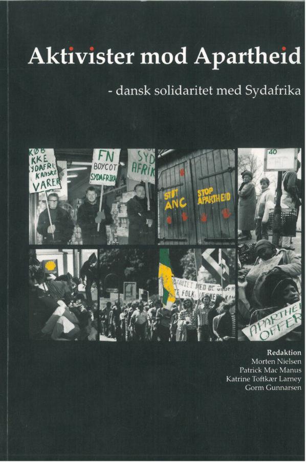 Aktivister mod Apartheid. bog forside