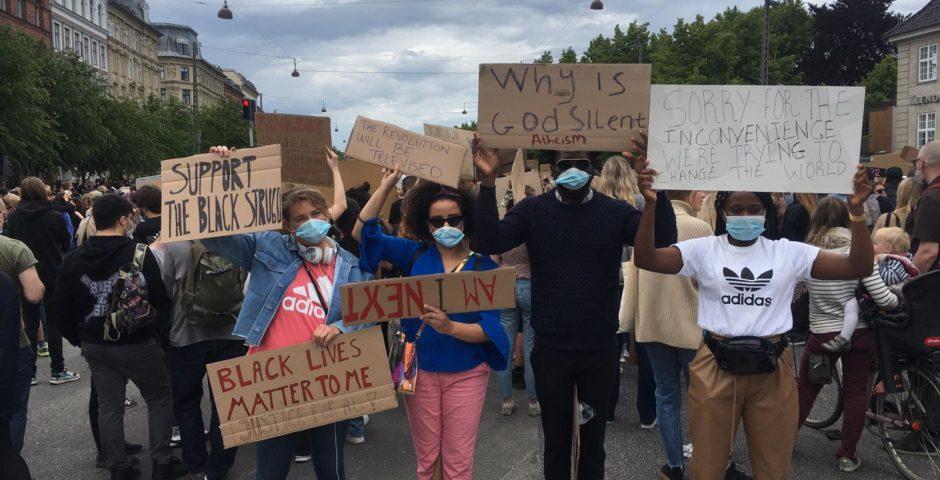 Global Aktivister til BLM demonstration