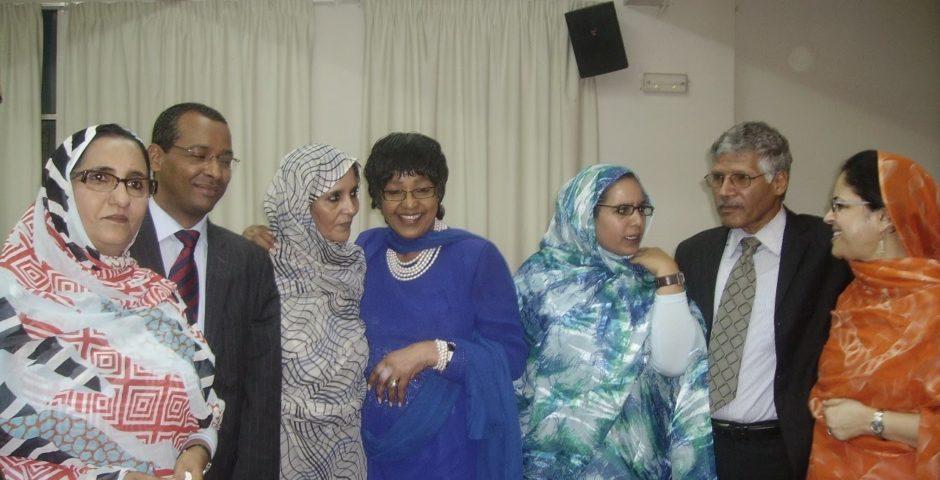 Winnie Madikizela-Mandela Western Sahara solidarity