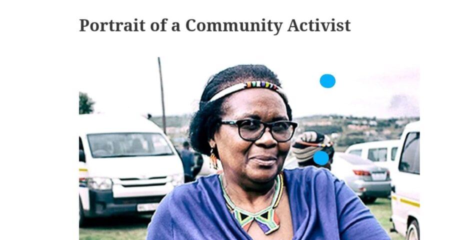 Activist Fikile Ntshangase