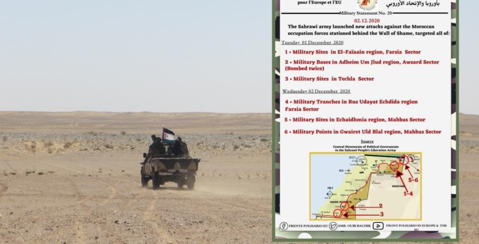 Polisario war communique